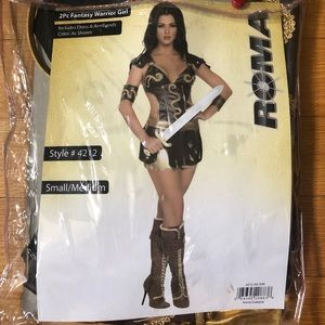 🎃 Women's Warrior Princess Costume